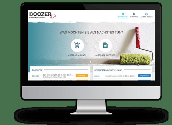 Launch von Doozer 2.0