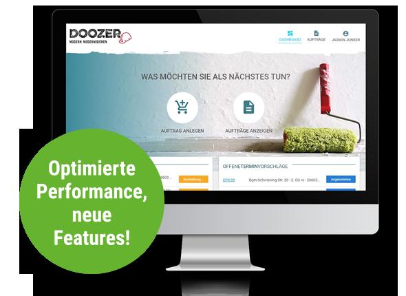 Doozer 2.0: noch einfacher, noch schneller.<br />